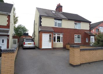 Thumbnail 3 bed semi-detached house for sale in Whitehill Road, Ellistown, Leicestershire