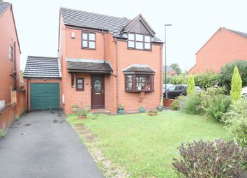 Thumbnail 3 bed detached house for sale in Castle Road, Walsall Wood, Walsall