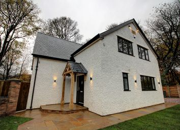 Thumbnail 4 bed detached house for sale in Woodstock Drive, Worsley, Manchester