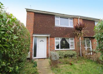 Thumbnail 2 bed end terrace house for sale in Mckerchar Close, Lancing