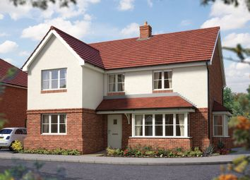 "Thumbnail 5 bed detached house for sale in ""The Chester"" at Matthewsgreen Road, Wokingham"