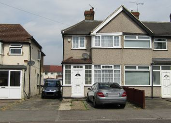Thumbnail 3 bedroom end terrace house for sale in Elm Park Avenue, Hornchurch
