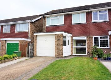 Thumbnail 3 bedroom semi-detached house for sale in Monterey Close, Bexley