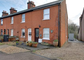 Thumbnail 2 bed end terrace house for sale in Brook Road, Stansted
