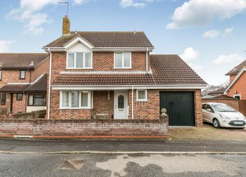 Thumbnail 4 bed detached house for sale in Rosewood Close, Highwoods, Colchester