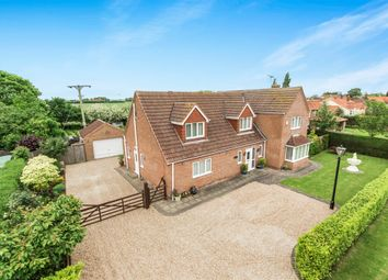 Thumbnail 4 bed detached house for sale in Northlands Lane, Sibsey, Boston