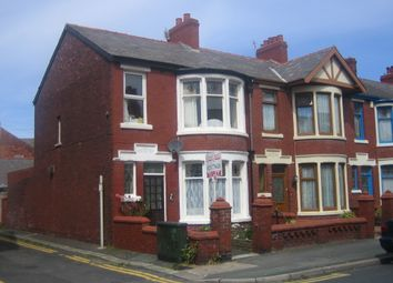 Thumbnail 1 bedroom flat to rent in Cornwall Avenue, Blackpool