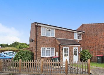 Thumbnail 2 bed end terrace house for sale in Burbeach Close, Crawley