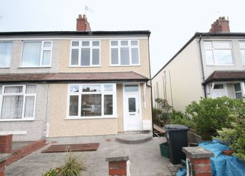 Thumbnail 3 bed end terrace house to rent in Keys Avenue, Horfield, Bristol