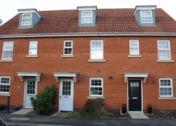 Thumbnail 3 bed terraced house to rent in Selway Drive, Bury St. Edmunds