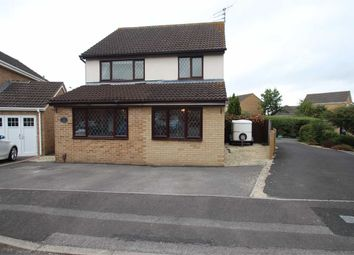 Thumbnail 4 bed detached house for sale in Devon Drive, Westbury, Wiltshire