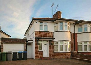 Thumbnail 4 bed semi-detached house for sale in Uxendon Hill, Wembley, Greater London