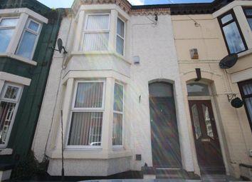 Thumbnail 3 bedroom terraced house to rent in Weldon Street, Walton, Liverpool