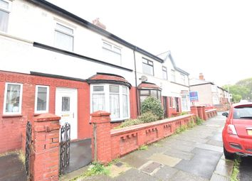 Thumbnail 3 bed terraced house for sale in Airedale Avenue, Blackpool