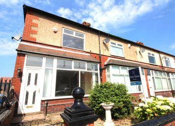 Thumbnail 3 bed terraced house for sale in Moss Lane, Worsley, Manchester