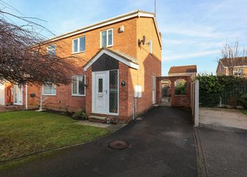 Thumbnail 3 bed semi-detached house for sale in Milburn Court, Sothall, Sheffield