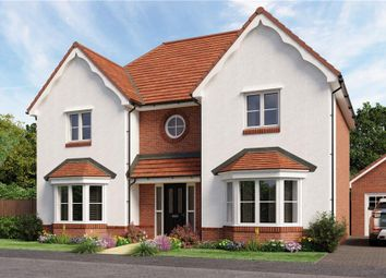 "Thumbnail 4 bed detached house for sale in ""Knightley"" at Mansfield Business Park, Lymington Bottom Road, Medstead, Alton"