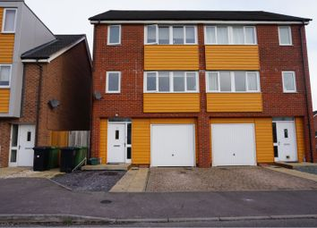 Thumbnail 4 bed semi-detached house to rent in Hargreaves Close, Basingstoke