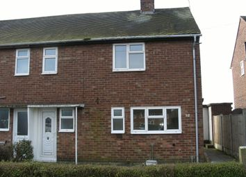 Thumbnail 2 bed semi-detached house to rent in Manor Drive, Brimington, Chesterfield