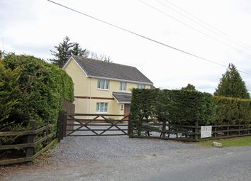 Thumbnail 4 bed detached house for sale in Rhos, Llandysul, Carmarthenshire