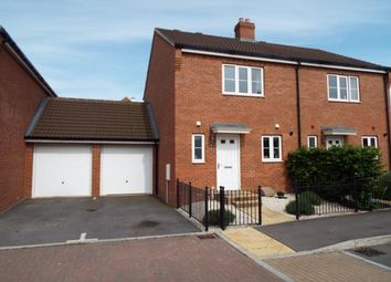 Thumbnail 3 bed semi-detached house for sale in Boulmer Avenue, Kingsway, Gloucester, Gloucestershire