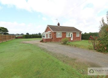 Thumbnail 2 bed bungalow for sale in Mill Road, Halvergate, Norwich