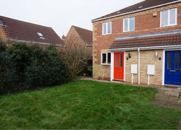 Thumbnail 2 bed town house to rent in Spencer Close, Saxilby, Lincoln
