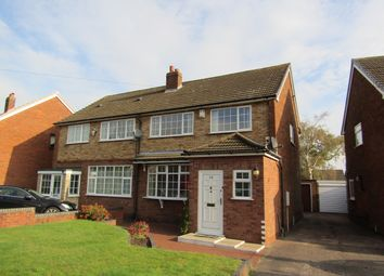 Thumbnail 3 bed semi-detached house to rent in Laneside Avenue, Streetly, Sutton Coldfield