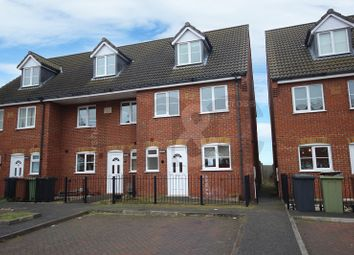 Thumbnail 4 bed end terrace house to rent in Talbot Road, Wellingborough, Northamptonshire.
