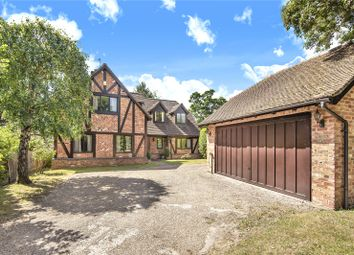 Thumbnail 5 bed detached house for sale in Wexham Park Lane, Wexham, Slough