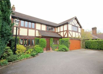 Thumbnail 4 bed detached house for sale in Tittensor Road, Barlaston, Stoke-On-Trent
