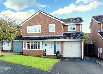 Thumbnail 4 bed detached house for sale in Gilwell Grove, Priorslee, Telford, Shropshire.