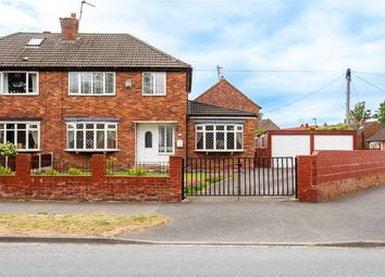 Thumbnail 3 bed semi-detached house for sale in Watergate, Methley, Leeds