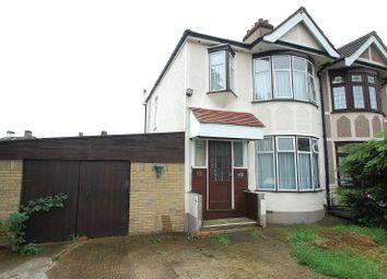 Thumbnail 3 bedroom end terrace house for sale in Wennington Road, Rainham