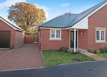 Thumbnail 2 bed semi-detached bungalow for sale in Gateway Avenue, Baldwins Gate, Newcastle