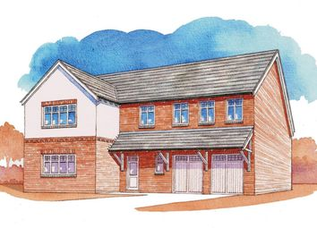 Thumbnail 5 bed detached house for sale in Gynsill Lane, Anstey, Leicester