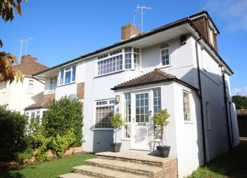 Thumbnail 4 bed semi-detached house for sale in Dale View Gardens, Hove, East Sussex