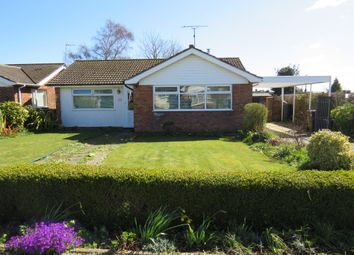 Thumbnail 3 bed detached bungalow for sale in Gables Avenue, Southrepps, Norwich