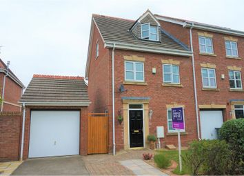 Thumbnail 3 bed town house for sale in Sir Toby Belch Drive, Warwick