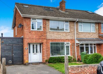 Thumbnail 4 bed semi-detached house for sale in Woodcote Avenue, Kenilworth