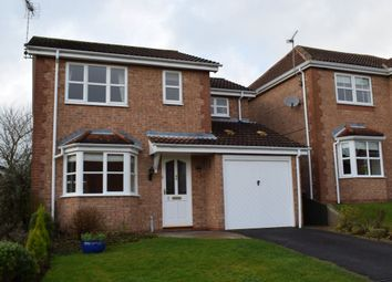 Thumbnail 3 bed detached house to rent in Vicarage Close, Swanwick, Alfreton