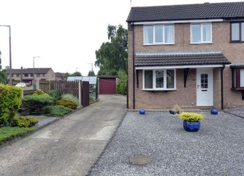Thumbnail 3 bed semi-detached house for sale in Leconfield Road, Lincoln