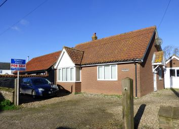 Thumbnail 3 bed detached bungalow for sale in The Street, Tharston, Norwich