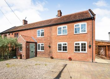 Thumbnail 5 bedroom cottage for sale in Stoke Road, Caistor St. Edmund, Norwich