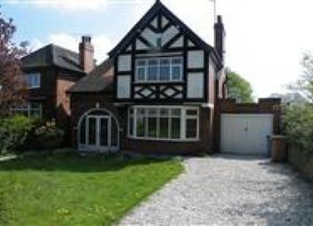 Thumbnail 3 bedroom detached house for sale in Crowhill Drive, Mansfield