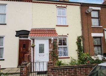 Thumbnail 3 bedroom terraced house to rent in Churchill Road, Great Yarmouth