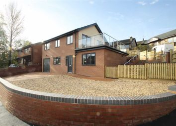 Thumbnail 3 bed detached house for sale in Croft Road, Welshpool