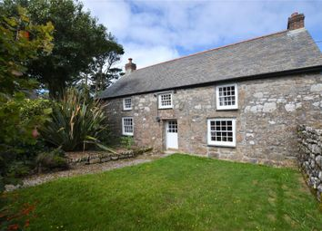 Thumbnail 3 bed detached house for sale in Trevowhan, Morvah, Penzance, Cornwall