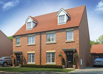 "Thumbnail 4 bed semi-detached house for sale in ""The Easton"" at Yarm"