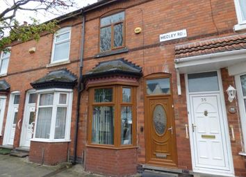 Thumbnail 3 bed terraced house for sale in Medley Road, Sparkhill, Birmingham, West Midlands